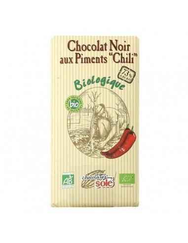 "Chocolat noir 73% au ""chili"""