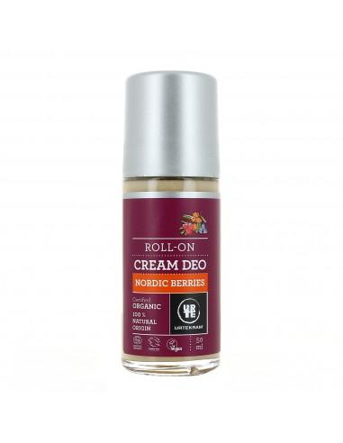 Déo crème roll-on aux baies nordiques 50 ml Urtekram