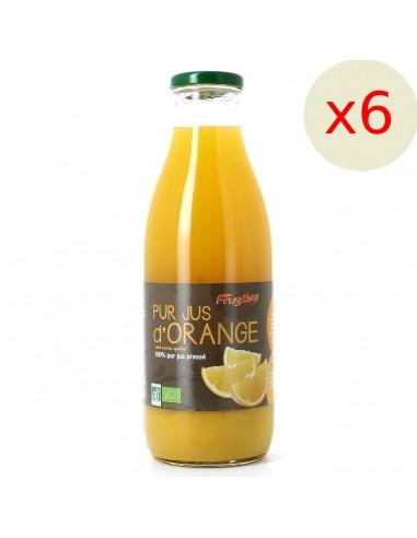 Jus d'orange 100% pur jus 1 L