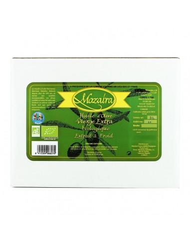 Huile d'Olive Extra Vierge BIB 3 L