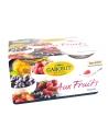 Yaourt Bio de vaches bio panaché 4 fruits myrtille, fraise, framboise, abricot 4 x 125 g