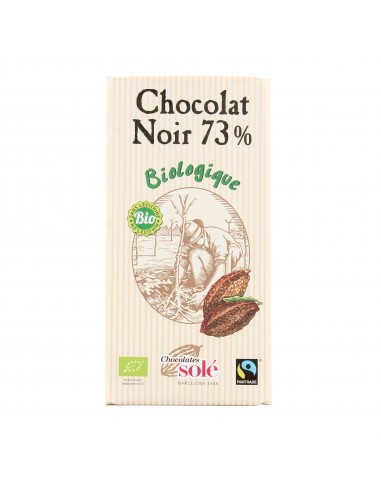 Chocolat noir 73% cacao